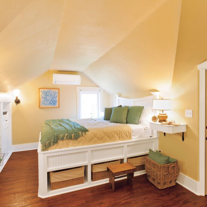 Ways to Turn Unused Space Into the Rooms You Need Basement Bedroom Clever Basement Bedroom Ideas