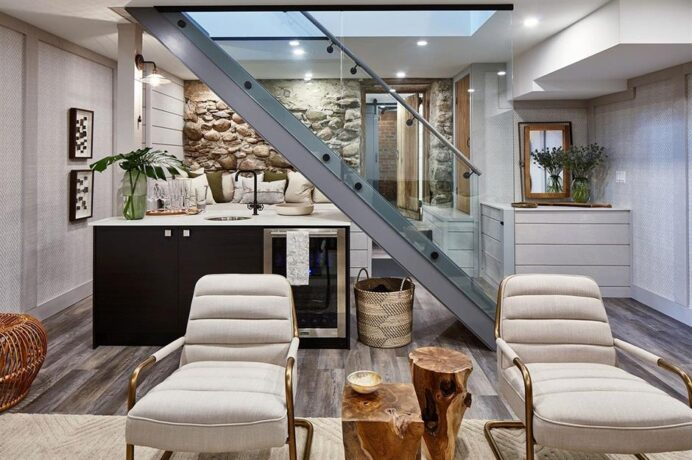 central_staircase_Beautiful-basements-that-are-filled-with-light Basement Innovative Basement Lighting Ideas
