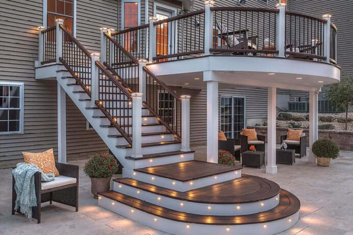 Deck Design Options Everything You Need to Know Deck Creative Deck Lighting Ideas