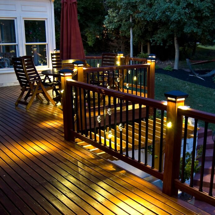 Types of Deck Lighting and Their Advantages Deck Creative Deck Lighting Ideas