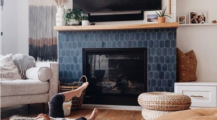 Amazing Cement Tile Designs for Your Fireplace Fireplace Unique Fireplace Tile Ideas
