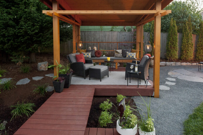 Fantastic Deck Roof Ideas The Lean-To Deck Fantastic Deck Roof Ideas