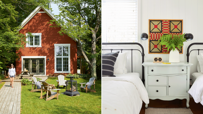 Favorite Rooms From Canadian Cottages COTTAGE CABIN AND COTTAGE DECORATING