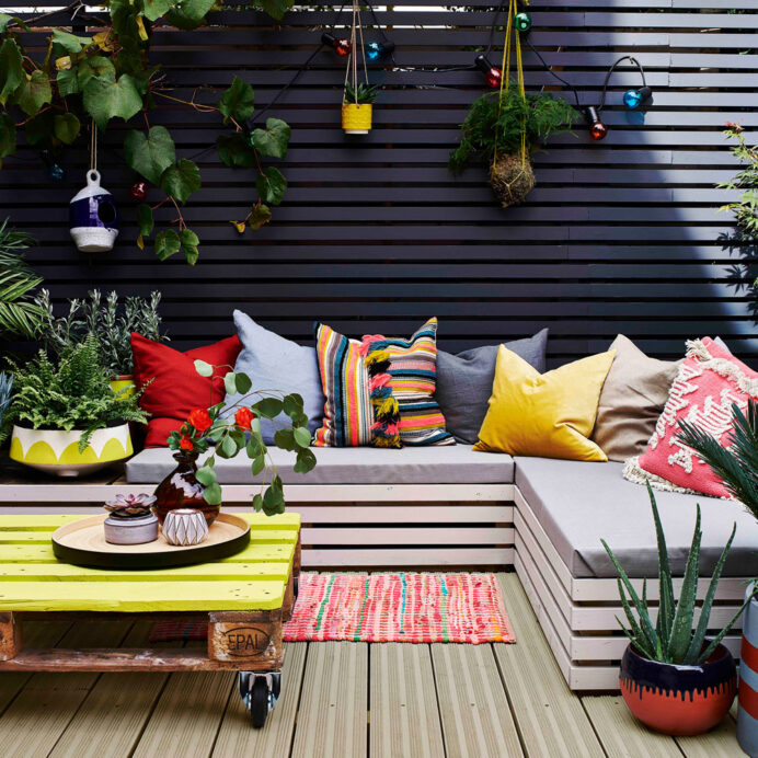 Garden decking ideas and designs for plots both large and small Deck Inspired Small Deck Ideas