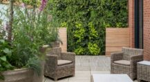 Living wall ideas creative ways to plant a green wall garden Fence Ideas Creative Garden Fence Ideas