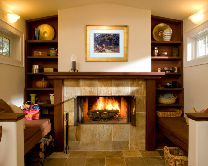 cosy Brick Fireplace Ideas The Painted Inglenook Fireplace cosy Brick Fireplace Ideas
