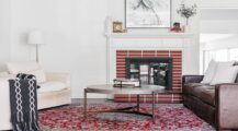 cosy Brick Fireplace Ideas The Simple Fireplace cosy Brick Fireplace Ideas
