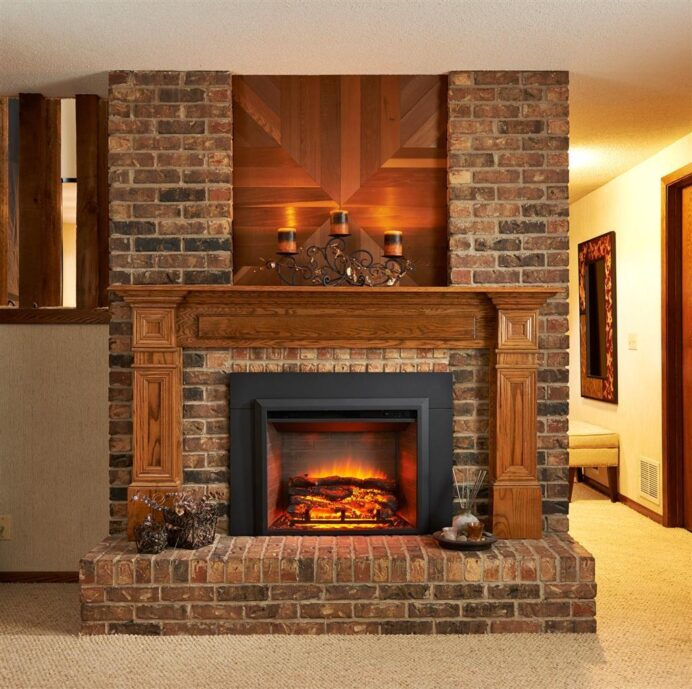 cosy Brick Fireplace Ideas When A Fireplace Isn't For Fire Fireplace cosy Brick Fireplace Ideas