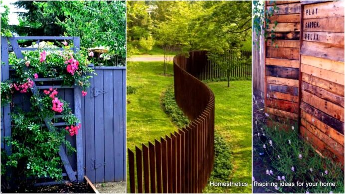 Awesome-and-Cheap-DIY-Pallet-Fence-Ideas-to-Realize-Swiftly Fence Ideas Creative Garden Fence Ideas