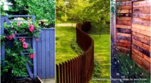 Awesome-and-Cheap-DIY-Pallet-Fence-Ideas-to-Realize-Swiftly Garden Inventive Pallet Fence Ideas