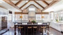 Cozy Country Kitchens Design Ideas Ceiling Cozy Wood Ceiling Ideas