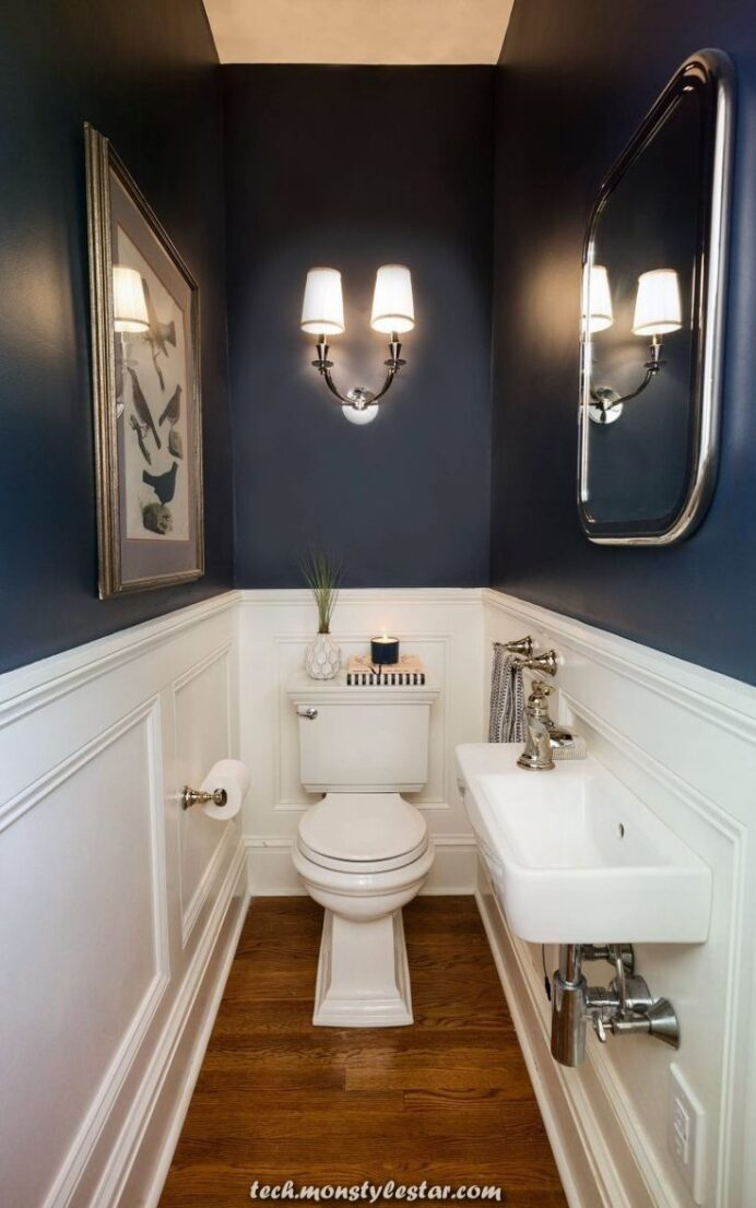 Creative and Great concepts and nice designs for the lavatory that it's best to see Bathroom Creative Small Half Bathroom Ideas