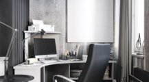 Masculine-home-office-ideas home Cool Home Office Ideas for Men
