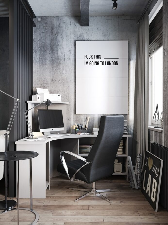 Masculine-home-office-ideas