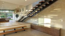 Mill Valley Contemporary Split Level Staircase Staircase Staircase Design Ideas