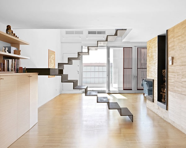 Minimalist Staircase Unique Stair Designs in House
