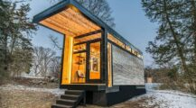 Pilot tiny houses in Rotterdam home interior Dream Big While Small  House