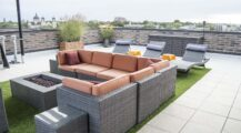 Rooftop-Lounging-Fire Deck Fantastic Deck Roof Ideas