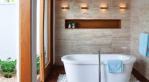 Spa-Like Bathrooms That Invite Relaxation Bathroom Spa-Style Bathrooms