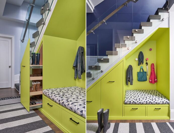 Space Saving New Ideas Combine Storage with the Staircase Staircase Staircase Design Ideas