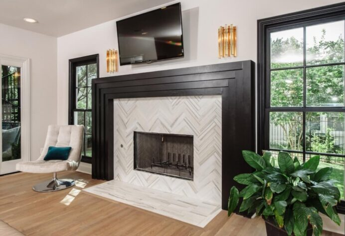Stylish Fireplace Tile Ideas for Your Fireplace Surround Fireplace Unique Fireplace Tile Ideas