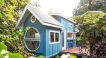 Tiny house oasis built for paradise home interior Dream Big While Small  House