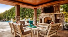 backyard-covered-patio-ideas Deck Stunning Covered Deck Ideas