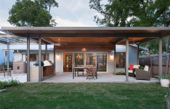 covered-patio-flat-roof-outdoor-fabulous-simple-deck-cover_home-elements-and-style Deck Fabulous Patio Roof Ideas