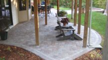 magnificent-under-deck-patio-remodeling-ideas-with-fondulac-steps_home-elements-and-style Deck Original Under Deck Ideas