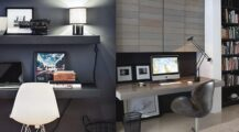 small-home-office-ideas-for-men home Cool Home Office Ideas for Men