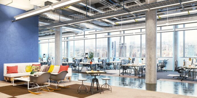 Create an Open Office Space Design Living Room Office Space Design in Your Living Room