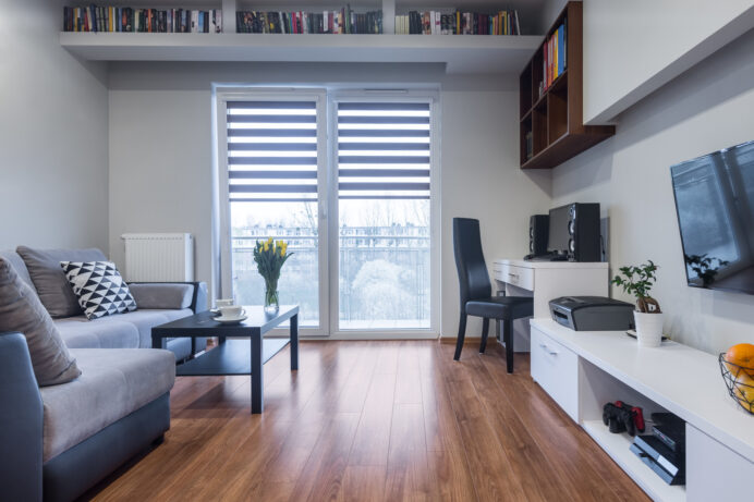 Functional home interior in new style Apartment Studio Type Apartment Inspiration