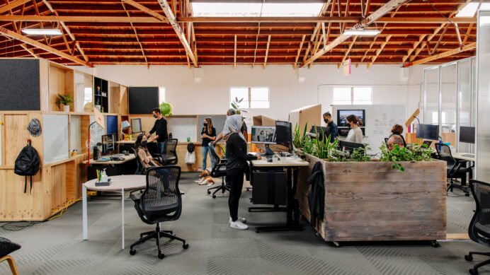 Google's Plan for the Future of Work Privacy Robots and Balloon Walls Home Office When Using an Office Interior Designer There Are 7 Things To Consider.
