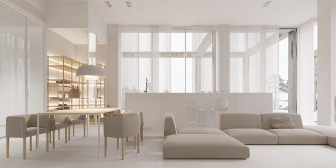 Gorgeously Minimalist Living Rooms That Find Substance in Simplicity home Minimalist Home Interior Design