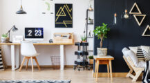 Home Office Ideas Turn a Spare Room into Your Design Living Room Office Space Design in Your Living Room