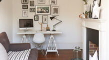 Ideal-Home-small-home-office-ideas-in-the-living-room Living Room Office Space Design in Your Living Room
