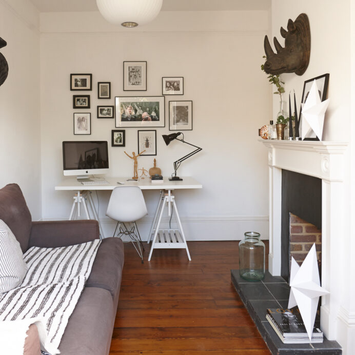 Ideal-Home-small-home-office-ideas-in-the-living-room