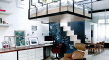 Making the Most of the Forgotten Space at Home Living Room Office Space Design in Your Living Room