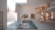 Minimalist House Inspired by Spacious Concept home Minimalist Home Interior Design