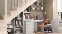 Office Space Design in Your Living Room Utilizing Forgotten Spaces at Home Living Room Office Space Design in Your Living Room